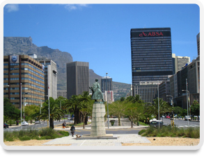 Cape Town downtown